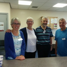 Christ Church volunteers made a warm welcome and a lovely brew